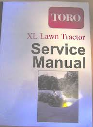 toro wheel horse xl series lawn tractor service manual 1993 2006