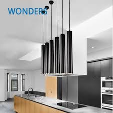 led cylinder pendant lights creative modern cylinder led pendant light for living room dining