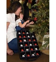 zippered ornament storage box in ornament storage boxes