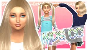childs hairstyles sims 4 the sims 4 cc showcase kids edition girls youtube
