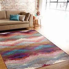 Soft Area Rug Distressed Modern Geometric Multi Soft Area Rug Wall S Furniture