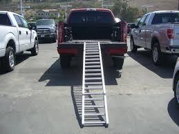 Chevy Silverado Truck Bed Extender - readyramp i beam bed extender ramp black 90 u2033 open fully