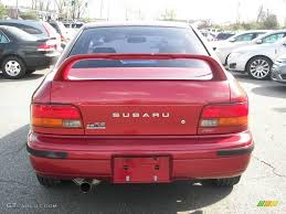 subaru coupe rs 2000 sedona red pearl subaru impreza 2 5 rs coupe 8195581 photo