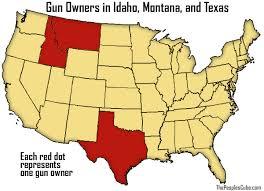 map us idaho idaho montana follow new york lead release gun map