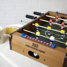 table top football games seconds personalised table top football game auntie mims