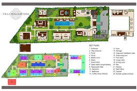 floor plan villa malaathina u2013 luxury umalas bali villa with 7