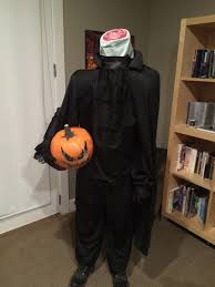 headless horseman costume me the 2014 party was epic