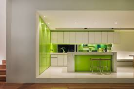 charming green kitchen ideas with white cabinets furnished and