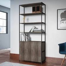 Bookcase Wide Extra Wide Bookcase Wayfair