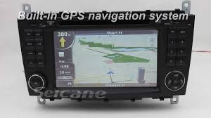 mercedes c class w203 stereo specialized gps navigation
