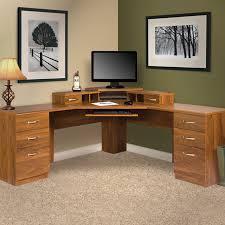 Corner L Desk Barrel Studio Lewisville Reversible Corner L Shape Executive