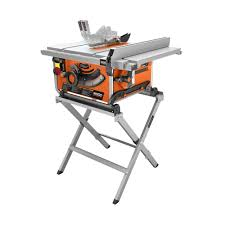 ridgid table saw r4513 parts ridgid 10 in compact table saw with folding x stand r45171 the