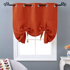 Grommet Kitchen Curtains Cool Thermal Lined Kitchen Curtains U2013 Muarju