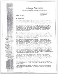 martin luther king jr living memorial project letter from rabbi