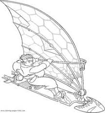 treasure planet island cartoon kids coloring pages free colouring