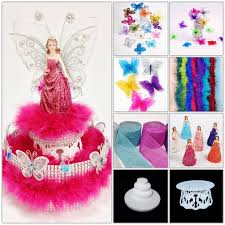 quinceanera table centerpieces diy 13 quinceanera figurine w boa and butterfly centerpiece