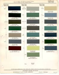 1959 cadillac color chart images reverse search