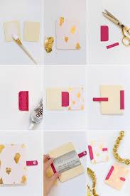 how to make gift cards diy wood gold leaf gift card holder lovely indeed