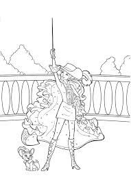 barbie coloring pages bestofcoloring
