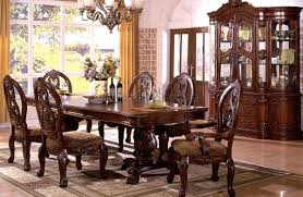 tuscany i dining room set by furniture of america cm3845p ch t