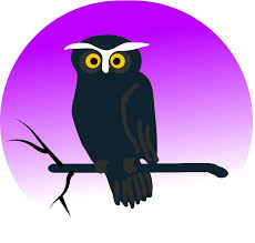 clipart halloween owl