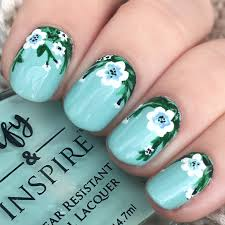 my floral nails floralnails nailart floral nails summer my