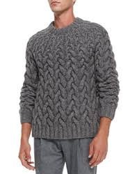 michael kors sweaters s grey cable sweaters by michael kors s fashion