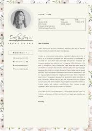 Resume Samples In Jamaica by Floral Pattern Resume Template Cv Cover Letter By Showy68template