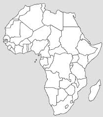 africa map black and white best photos of africa map outline and white africa map outline