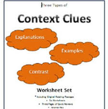68 best context clues images on pinterest teaching reading