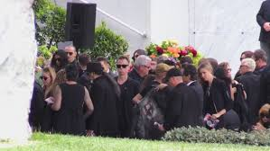 funeral fans and fans attend chris cornell s funeral in