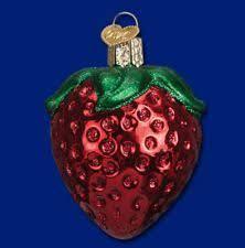 glass food ornaments ebay