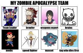 Zombie Apocalypse Meme - my zombie apocalypse meme by walrusmmmmmm on deviantart
