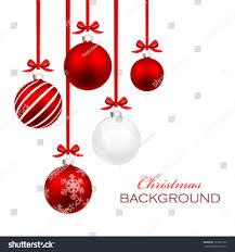 ribbon and bows christmas balls ribbon bows stock vector 163701320