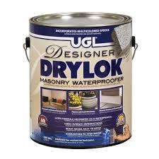 drylok 1 gal latex based masonry waterproofer 24013 the home depot