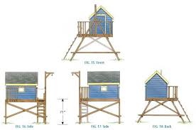free house plans with pictures free deluxe tree house plans
