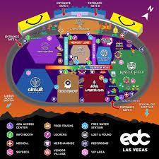 Wynn Las Vegas Map by Edc Las Vegas 2017 Set Times Announced Discotech The 1