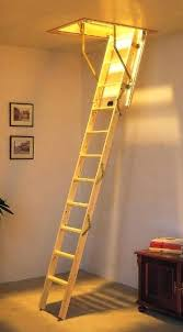 attic ladder small opening series aluminum attic ladders perfect