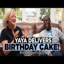 yaya toure delivers birthday cake fan troll football
