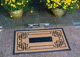 slonser modern welcome mat carpet entrance rug front door mat