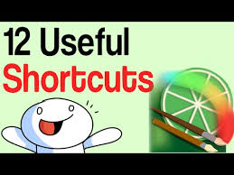 12 useful shortcuts for paint tools sai tutorial youtube