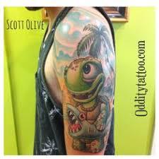 by matt helmer oddity tattoo studio and art gallery srq fl