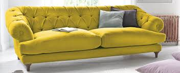 Velvet Sofa For Sale by Captivating Chesterfield Sofa For Sale Ebay Ion Yellow Leather