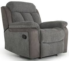 Fabric Recliner Chair Buy Vida Living Brton Grey Fabric Recliner Chair Cfs Uk