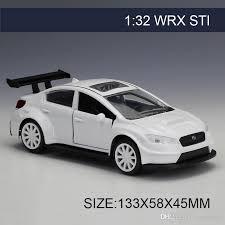 collectible model cars 2017 1 32 diecast model car impreza wrx sti white vehicle
