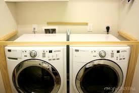bathroom agreeable crazy wonderful diy built washer dryer and