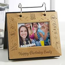 personalized album happy birthday personalized flip photo album