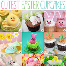 Cute Easter Cupcake Decorations by The Cutest Easter Cupcakes Chickabug