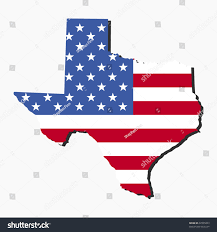 Map Of Red And Blue States by Map State Texas American Flag Illustration Stock Vector 32995603