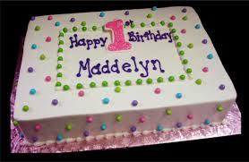 1st Birthday Halloween Cake by My Rosette Sheet Cake Buttercream Rosettes Jenn U0027s Just